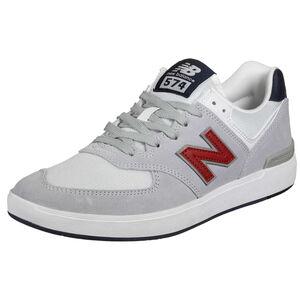 AM574 Sneaker Herren, grau / weiß, zoom bei OUTFITTER Online