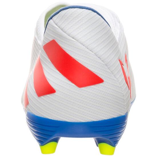 Nemeziz Messi 19.3 FG Fußballschuh Herren, weiß / rot, zoom bei OUTFITTER Online