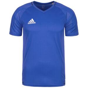 Tiro 17 Trainingsshirt Herren, blau / weiß, zoom bei OUTFITTER Online