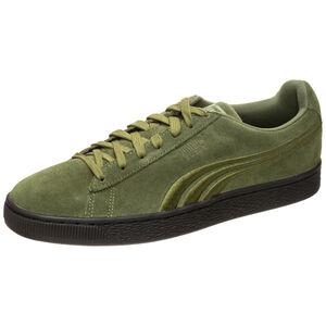 Suede Classic Badge Flip EM Sneaker Herren, Grün, zoom bei OUTFITTER Online
