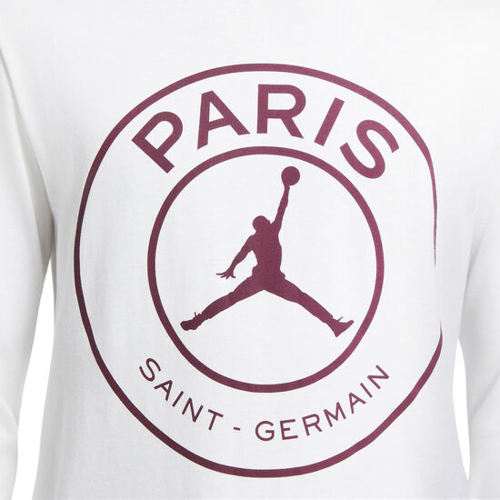 Paris St.-Germain Longsleeve Herren, weiß, zoom bei OUTFITTER Online