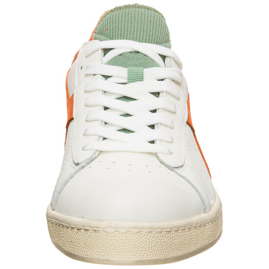 Game L Low Used Sneaker, weiß / orange, zoom bei OUTFITTER Online