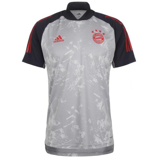 FC Bayern München Trainingsshirt Herren, grau / rot, zoom bei OUTFITTER Online