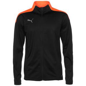 ftblNXT Trainingsjacke Herren, schwarz / orange, zoom bei OUTFITTER Online