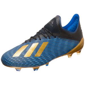 X 19.1 FG Fußballschuh Herren, schwarz / gold, zoom bei OUTFITTER Online