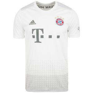 FC Bayern München Trikot Away 2019/2020 Herren, weiß / hellgrau, zoom bei OUTFITTER Online