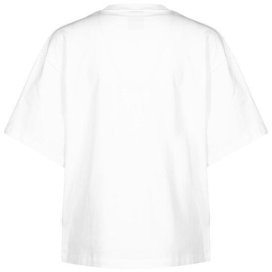 Sportswear Swoosh T-Shirt Damen, weiß / schwarz, zoom bei OUTFITTER Online