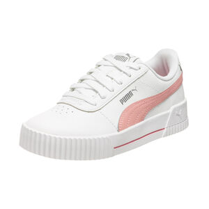 Carina L Jr Sneaker Kinder, weiß / pink, zoom bei OUTFITTER Online