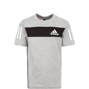 Sport ID Trainingsshirt Kinder, grau / schwarz, zoom bei OUTFITTER Online