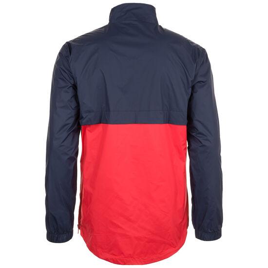 Stand Up Collar Pull Over Jacke Herren, dunkelblau / rot, zoom bei OUTFITTER Online