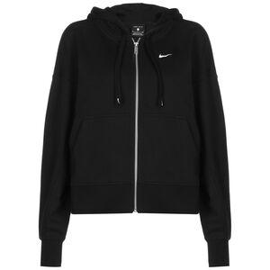 Get Fit Fleece Trainingsjacke Damen, schwarz / weiß, zoom bei OUTFITTER Online