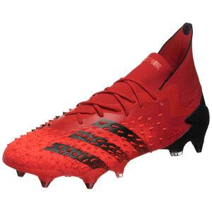 Predator Freak .1 SG Fußballschuh Herren, rot / schwarz, zoom bei OUTFITTER Online