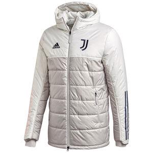 Juventus Turin Winterjacke Herren, hellgrau / dunkelblau, zoom bei OUTFITTER Online