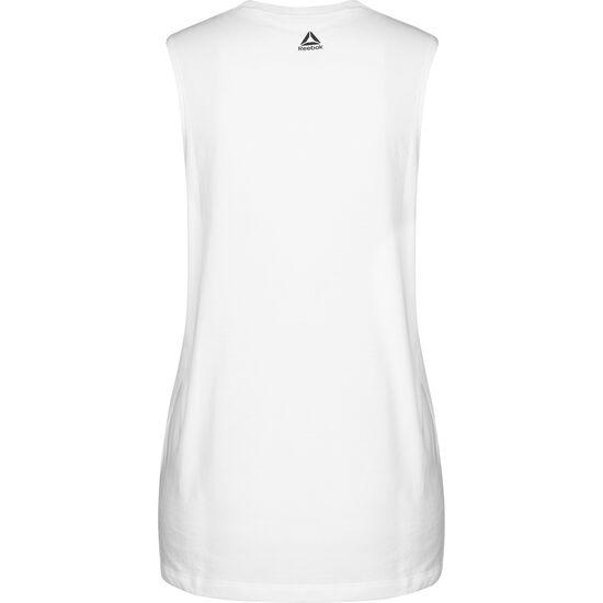 Meet You There Workout Muscleshirt Damen, weiß / schwarz, zoom bei OUTFITTER Online