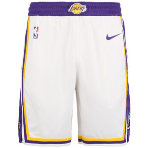 NBA Los Angeles Lakers Icon Edition Swingman Short Herren, weiß / lila, zoom bei OUTFITTER Online