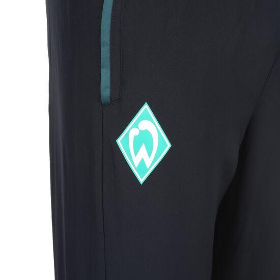 SV Werder Bremen Woven Trainingshose Herren, schwarz / grün, zoom bei OUTFITTER Online