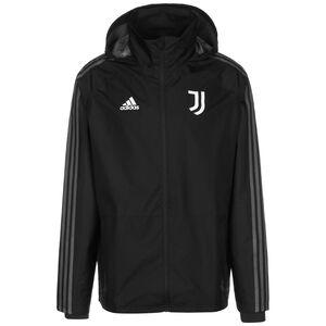 Juventus Turin Storm Jacke Herren, dunkelgrau / weiß, zoom bei OUTFITTER Online