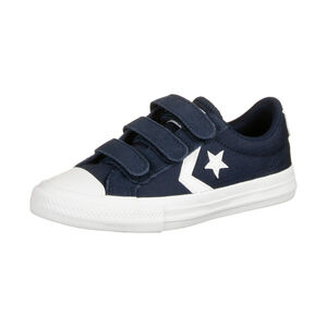 Star Player 3V OX Sneaker Kinder, dunkelblau / weiß, zoom bei OUTFITTER Online