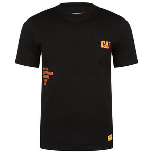 Fashion T-Shirt Herren, schwarz / orange, zoom bei OUTFITTER Online