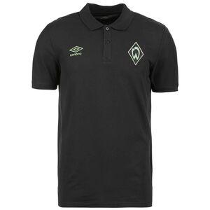 SV Werder Bremen CVC Poloshirt Herren, schwarz, zoom bei OUTFITTER Online