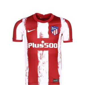 Atletico Madrid Trikot Home Stadium 2021/2022 Kinder, rot / weiß, zoom bei OUTFITTER Online