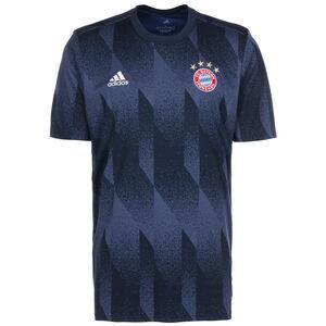 FC Bayern München Pre-Match T-Shirt Herren, blau / rot, zoom bei OUTFITTER Online