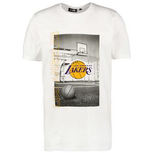 NBA Photographic Los Angeles Lakers T-Shirt Herren, weiß, zoom bei OUTFITTER Online