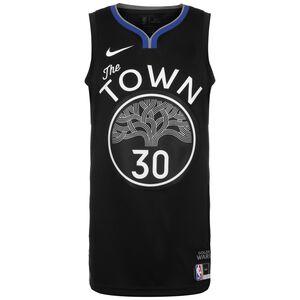 NBA City Edition Golden State Warriors Stephen Curry Basketballtrikot Herren, schwarz / weiß, zoom bei OUTFITTER Online