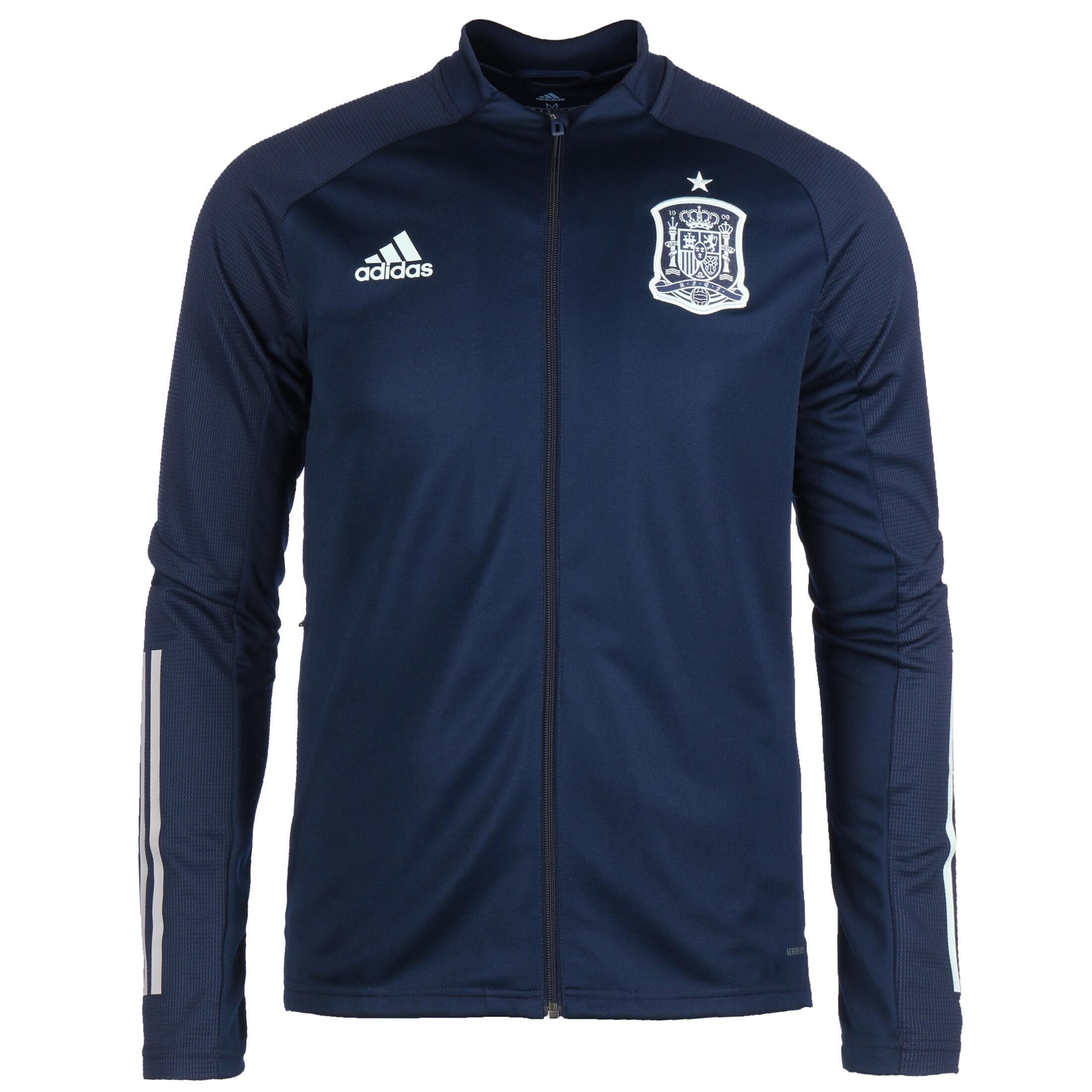 adidas Spanien Trainingsjacke EM 2021 Herren dunkelblau M