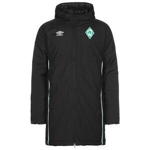 SV Werder Bremen Padded Winterjacke Herren, schwarz / grün, zoom bei OUTFITTER Online