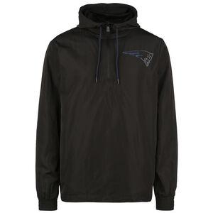 NFL New England Patriots Outline Logo Windbreaker Herren, schwarz / blau, zoom bei OUTFITTER Online