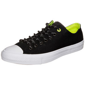 Chuck Taylor All Star II Shield Canvas OX Sneaker, Schwarz, zoom bei OUTFITTER Online