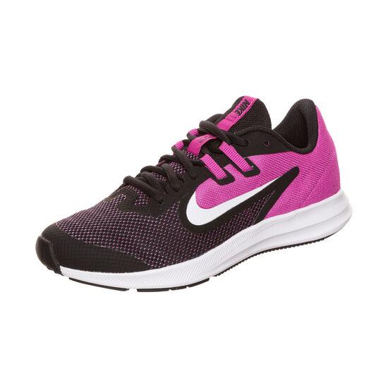Downshifter 9 Laufschuh Kinder, schwarz / pink, zoom bei OUTFITTER Online