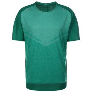 Run Division Techknit Ultra Laufshirt Herren, grün, zoom bei OUTFITTER Online