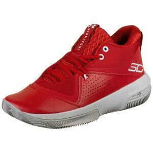 SC 3Zero IV Basketballschuh Herren, rot / weiß, zoom bei OUTFITTER Online