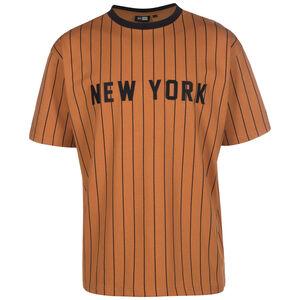 MLB New York Yankees Oversized Pinstripe T-Shirt Herren, braun / schwarz, zoom bei OUTFITTER Online