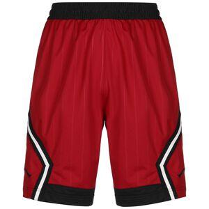 Jordan Diamond Striped Short Herren, rot / schwarz, zoom bei OUTFITTER Online