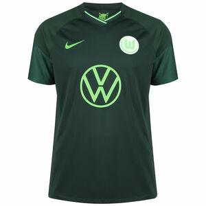 VfL Wolfsburg Trikot Away Stadium 2021/2022 Herren, dunkelgrün / hellgrün, zoom bei OUTFITTER Online