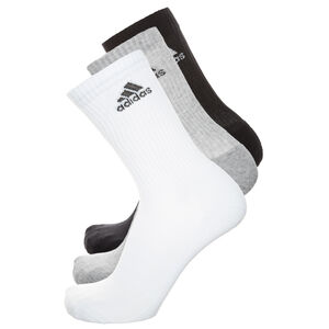 3 Stripes Performance Crew Socken 3er Pack, Weiß, zoom bei OUTFITTER Online