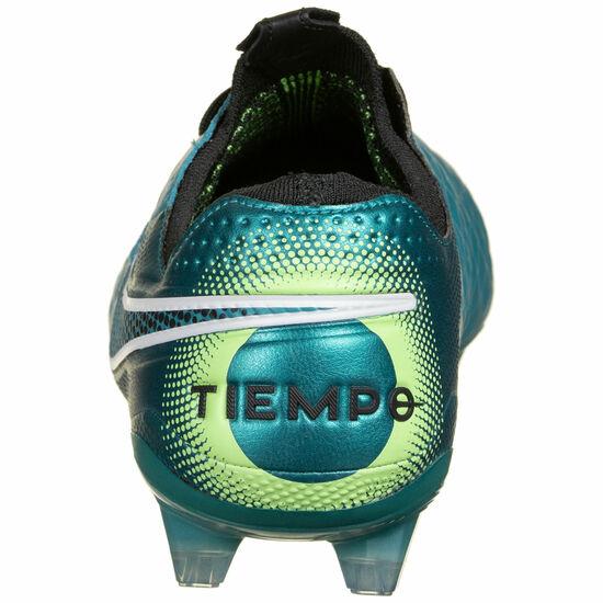Tiempo Legend 8 Elite FG Fußballschuh Herren, petrol / schwarz, zoom bei OUTFITTER Online