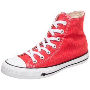 Chuck Taylor All Star High Sneaker Damen, rot, zoom bei OUTFITTER Online