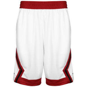 Jumpman Striped Basketballshort Herren, weiß / rot, zoom bei OUTFITTER Online