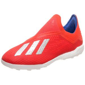 X 18+ TF Fußballschuh Herren, rot / blau, zoom bei OUTFITTER Online
