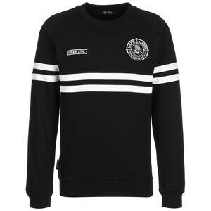 DMWU Sweatshirt Herren, schwarz / weiß, zoom bei OUTFITTER Online