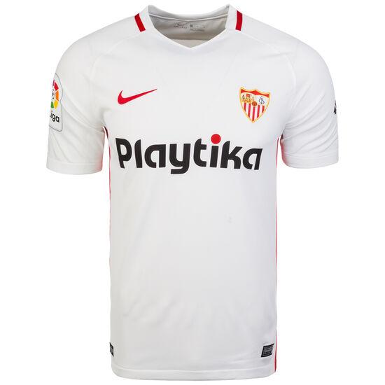 FC Sevilla Trikot Home Stadium 2018/2019 Herren, Weiß, zoom bei OUTFITTER Online