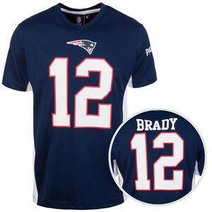 NFL New England Patriots #12 Brady T-Shirt Herren, dunkelblau / weiß, zoom bei OUTFITTER Online