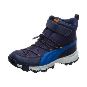Maka V Puretex Winterboot Kinder, dunkelblau / orange, zoom bei OUTFITTER Online