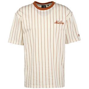 Oversized Pinstripe T-Shirt Herren, beige / hellbraun, zoom bei OUTFITTER Online