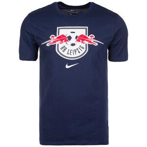 RB Leipzig Evergreen Crest T-Shirt Herren, Blau, zoom bei OUTFITTER Online