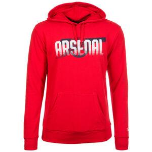 Arsenal London Cannon Kapuzenpullover Herren, Rot, zoom bei OUTFITTER Online